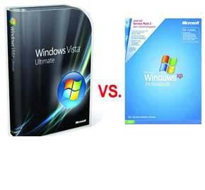 دانلود پاورپوینت مقایسه سرویس های امنیتی ویندوز Xp و Vista