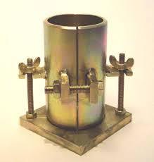 پاورپوینت آزمایشگاه تکنولوژی بتن - آزمایش نمونه گیری قالب مکعبی و قالب سیلندری یا استوانه ای